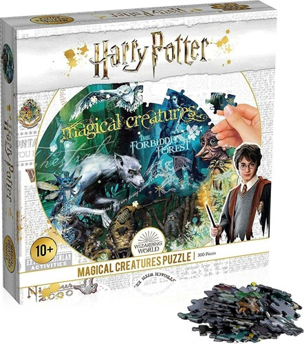 Harry Potter Magical Creatures Puzzel (500 stukjes)