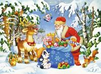 De Zak van de Kerstman Puzzel (100 XXL)-2