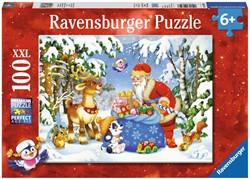 De Zak van de Kerstman Puzzel (100 XXL)