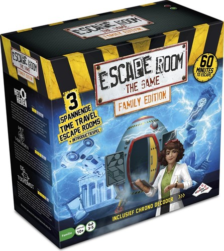 Escape Room The Game - Time Machine Family Edition