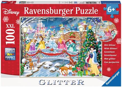 Disney Princess Kerst Puzzel (100 XXL)