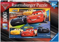 Disney Cars 3 XXL Puzzel - Duel der Kampioenen (100 stukjes)-1