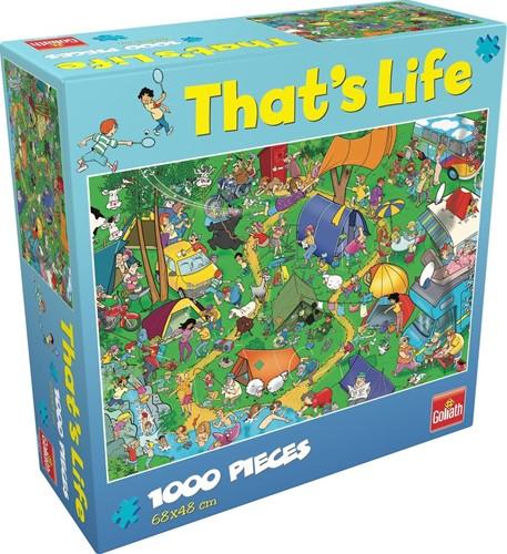 That's Life - Camping trip Puzzel (1000 stukjes)