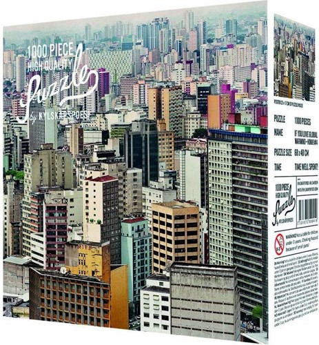Sao Paulo Puzzel (1000 stukjes)