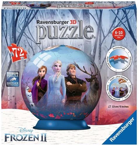 3D Puzzel - Frozen 2 Bal (72 stukjes)
