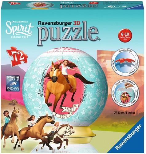 3D Puzzel - Spirit (72 stukjes)
