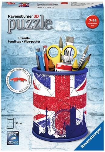 3D Puzzel - Engels Pennenbakje (54 stukjes)