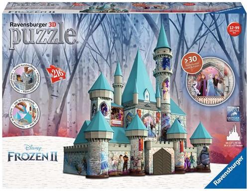 3D Puzzel - Frozen 2 Kasteel (216 stukjes)