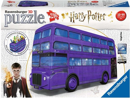 3D Puzzel - Harry Potter Bus (216 stukjes)