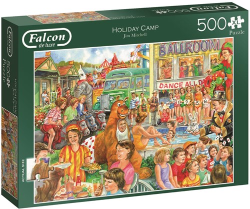 Falcon de Luxe - Holiday Camp Puzzel (500XL stukjes)