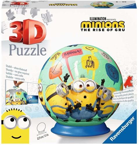 3D Puzzel - Minions 2 Puzzelbal (72 stukjes)
