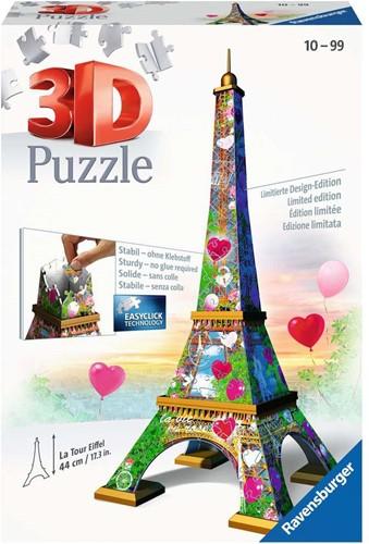 3D Puzzel - Eiffeltoren Love Edition (216 stukjes)