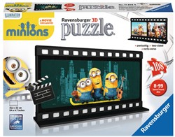 Filmstrook Minions 3D Puzzel (108 stukjes)