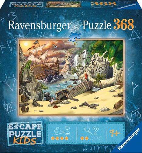 Escape Puzzle Kids - Pirates (368 stukjes)