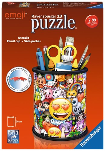 3D Puzzel - Pennenbak Emoji (54 stukjes)