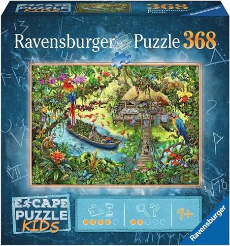 Escape Puzzel Kids - Jungle (368 stukjes)