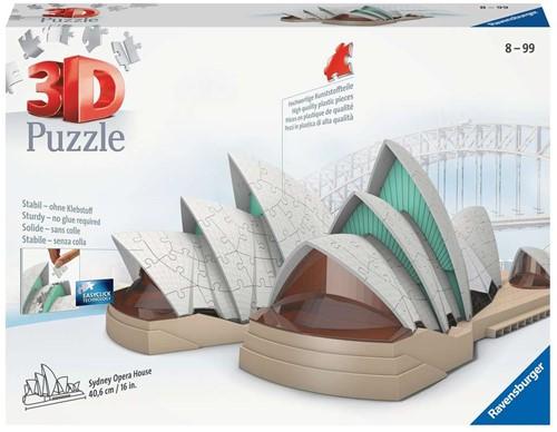 3D Puzzel - Sydney Opera House (216 stukjes)