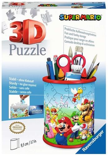 3D Puzzel - Pennenbak Super Mario (57 stukjes)