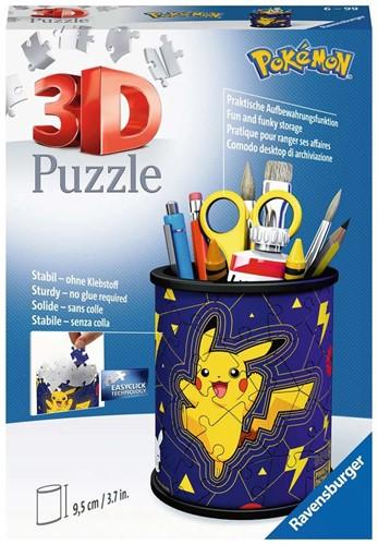 3D Puzzel - Pennenbak Pokemon (54 stukjes)