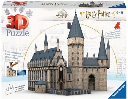 3D Puzzel - Harry Potter Zweinstein Kasteel (540 stukjes)