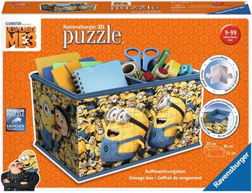 Despicable Me 3 Opbergbox - 3D Puzzel (216 stukjes)-1
