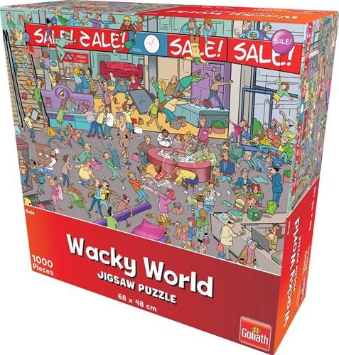 Wacky World - Sale Puzzel (1000 stukjes)