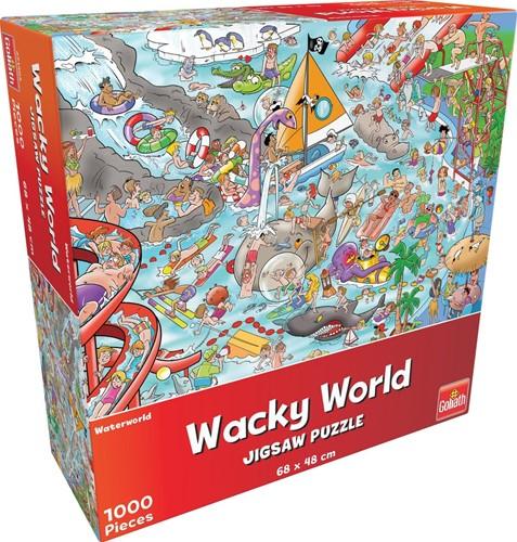 Wacky World - Waterworld Puzzel (1000 stukjes)