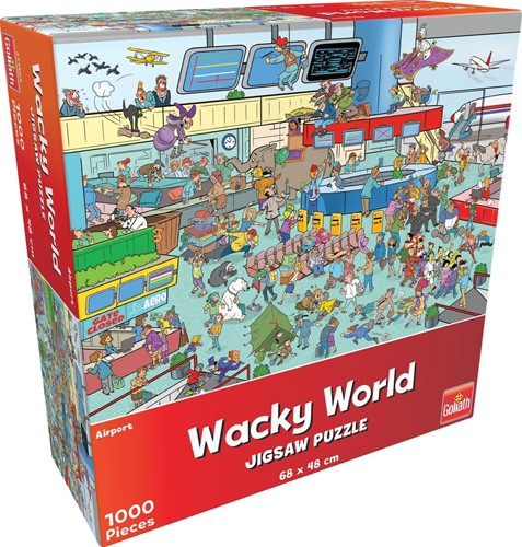 Wacky World  - Airport Puzzel (1000 stukjes)