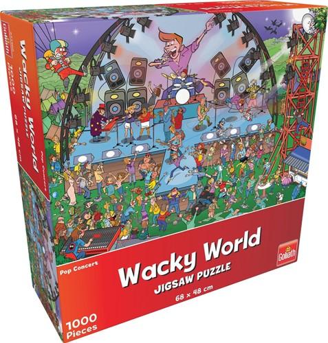 Wacky World - Pop Concert Puzzel (1000 stukjes)