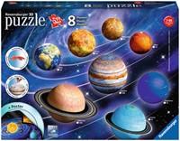 3D Zonnestelsel Puzzel (522 stukjes)