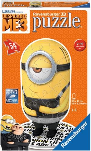 Despicable Me 3 Shape 2 - 3D Puzzel (54 stukjes)-1