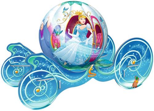 Cinderella Koets - 3D Puzzel (72 stukjes)