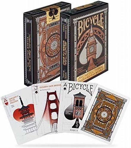 Bicycle Pokerkaarten - Architectural Premium