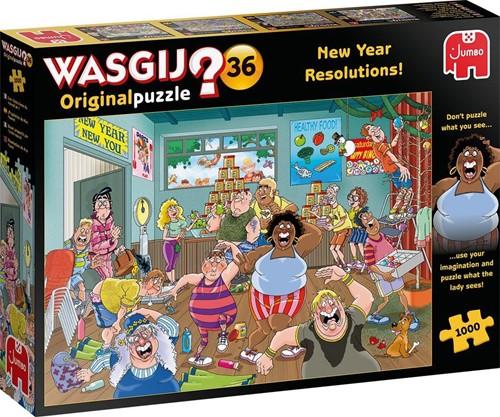 Wasgij Original 36 - Goede Voornemens! Puzzel (1000 stukjes)