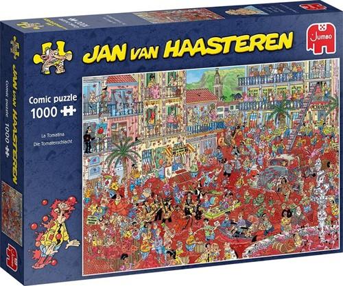 Jan van Haasteren - La Tomatina Puzzel (1000 stukjes)