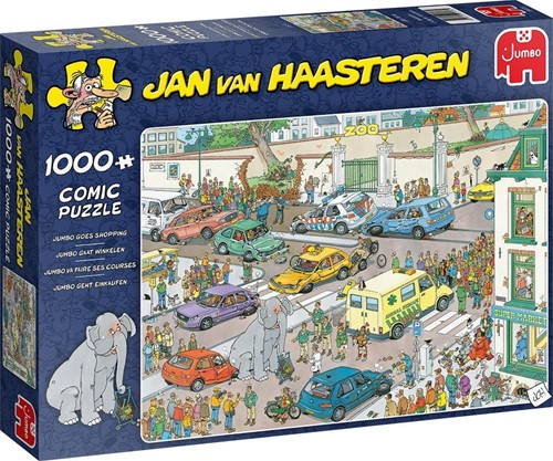 Jan van Haasteren - Jumbo Gaat Winkelen Puzzel (1000 stukjes)