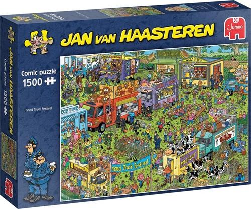 Jan van Haasteren  - Food Truck Festival Puzzel (1500 stukjes)