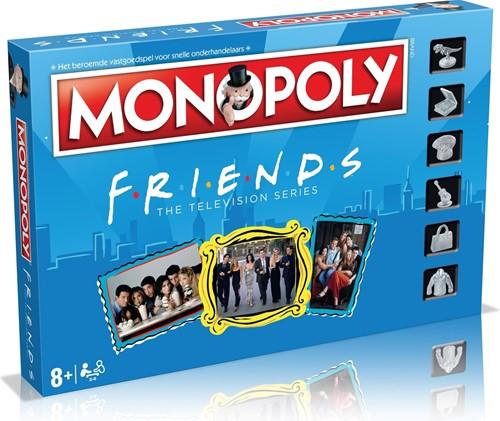 Monopoly Friends (Nederlandse versie) (doos beschadigd)