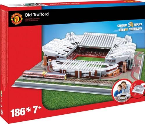 Manchester United - Old Trafford 3D Puzzel (186 stukjes)
