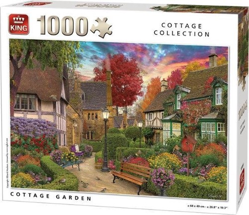 Cottage Garden Puzzel (1000 stukjes)