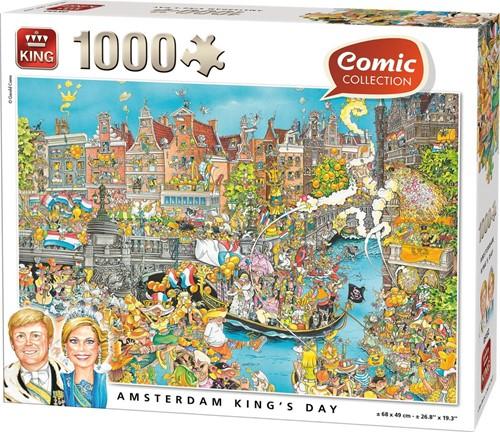 Koningsdag Puzzel (1000 stukjes)
