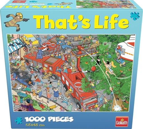 That's Life - Fire Station Puzzel (1000 stukjes)