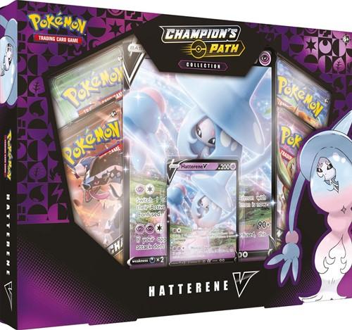 Pokemon Champion's Path - Hatterene V Box