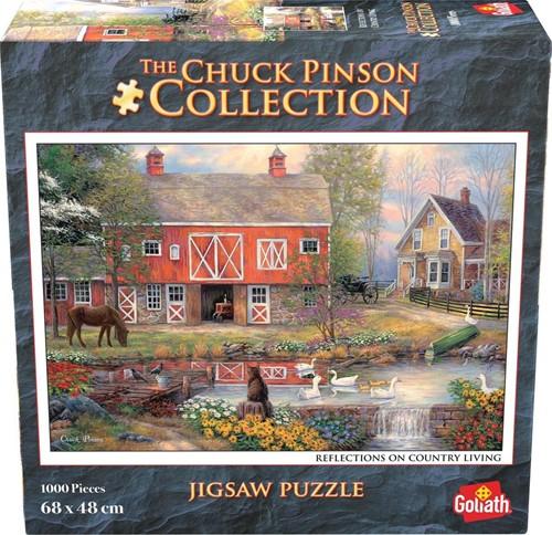 Chuck Pinson - Reflections on Country Living Puzzel (1000 stukjes)