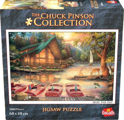 Chuck Pinson - Seize the Day Puzzel (1000 stukjes)