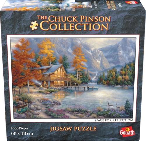 Chuck Pinson - Space For Reflections Puzzel (1000 stukjes)
