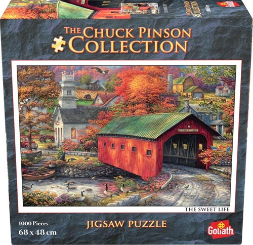 Chuck Pinson - The Sweet Life Puzzel (1000 stukjes)