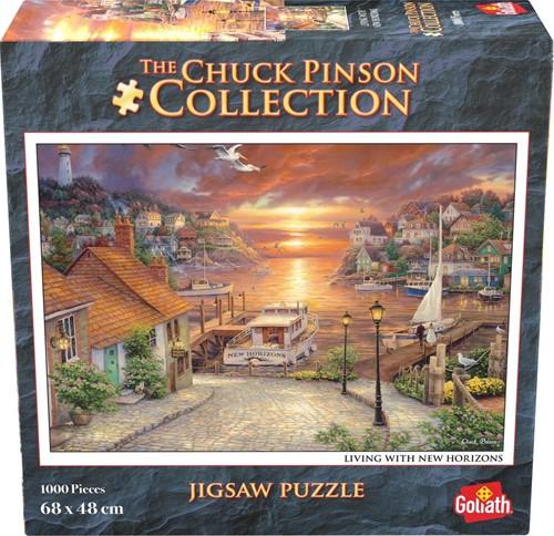 Chuck Pinson - Living With New Horizons Puzzel (1000 stukjes)