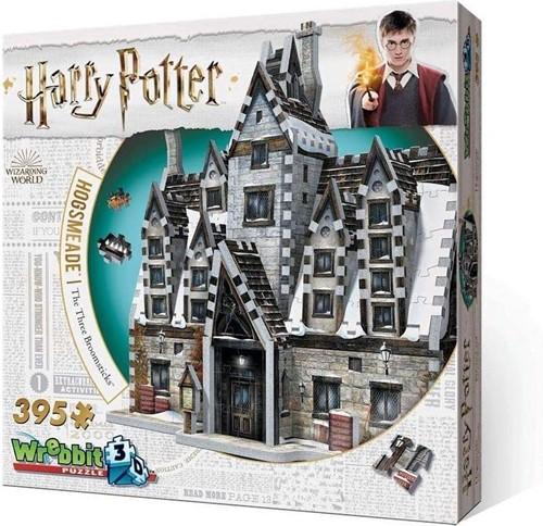Wrebbit 3D Puzzel - Harry Potter Hogsmeade The Three Broomsticks (395 stukjes)