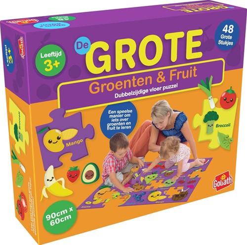 Grote Vloer Puzzel - Groenten & Fruit